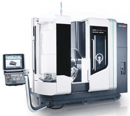 Dmg Mori Seiki Introduces Dmu 80 Evo With Pallet Changer