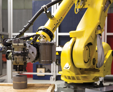 Robotic Automation Increases CNC Shop Productivity 500%