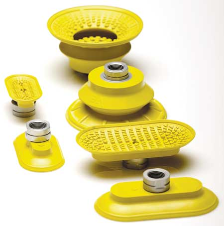 Bilsing Automation Expands Yellow Vacuum Cup Offering