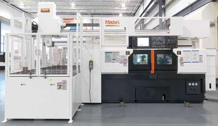 Mazak Introduces Multiplex 6200 Ii Y With Gantry Loader