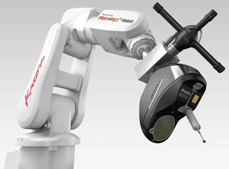 Touch-and-Scan Robotic Inspection Cell