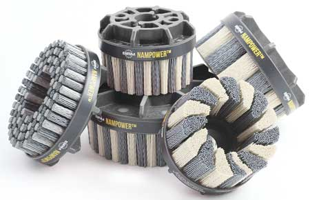 Center Abrasive Nylon Disc Brush 16