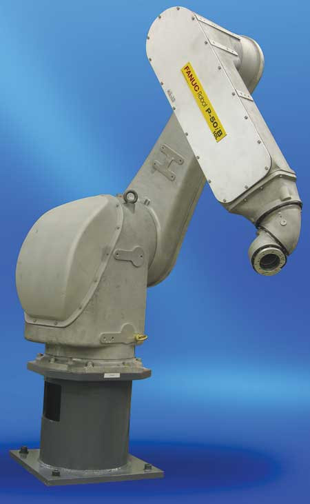 FANUC Robotics Offers P-50iB Painting Robot