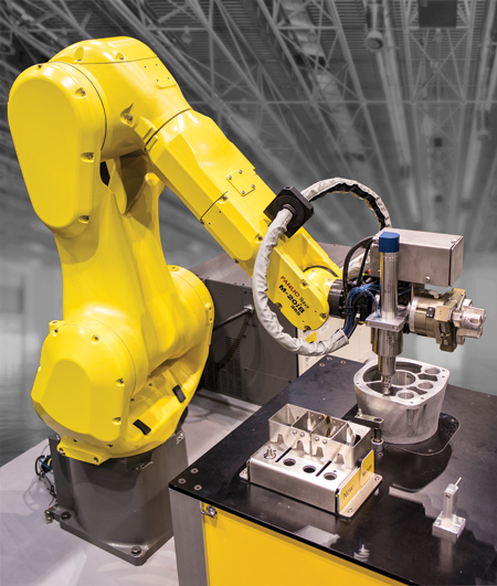 Intelligent Deburring With Six Axis Robot