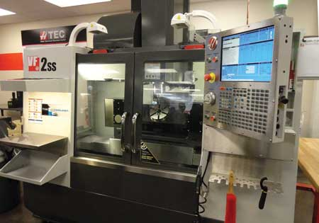 Lincoln College Trains Future CNC Machinists