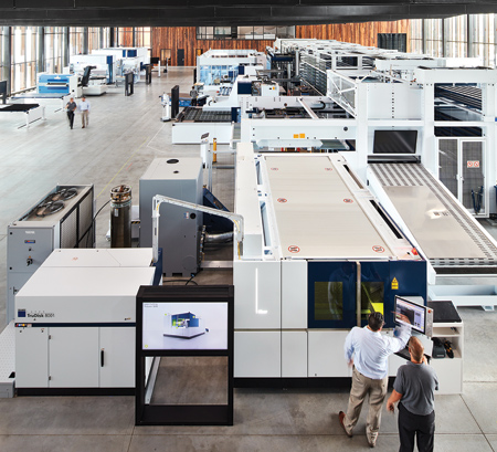 TRUMPF Opens Smart Factory in Chicago
