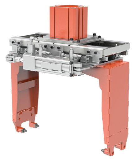 Gantry Robot System for Smaller, Lighter Components