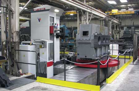 Precision Boring Company Employs New Boring Mill Technology