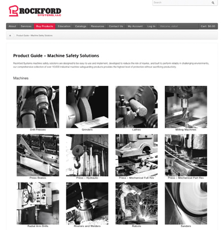 Rockford Systems Redesigns Website with More Powerful