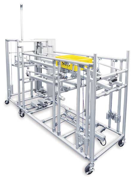 Structural Framing Systems : Structural aluminum framing system for factory automation