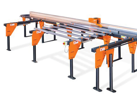 Customizable Automatic Infeed Station for Saw Systems