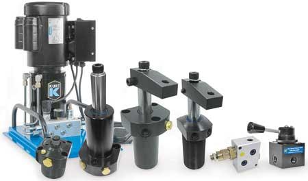 Kurt Introduces Range Of Hydraulic Swing Clamps Valves