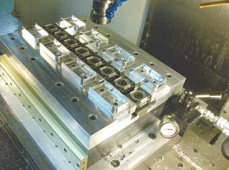 Paws Workholding Announces Hydraulic Clamping Multi Vise